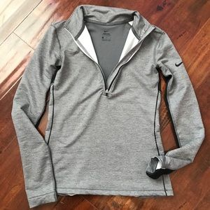 Grey nike sweater suit